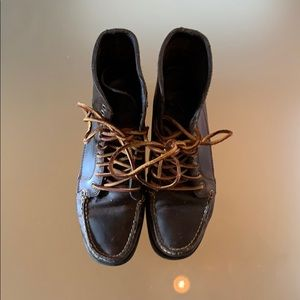 East Land Up Country Boots in Leather Brown